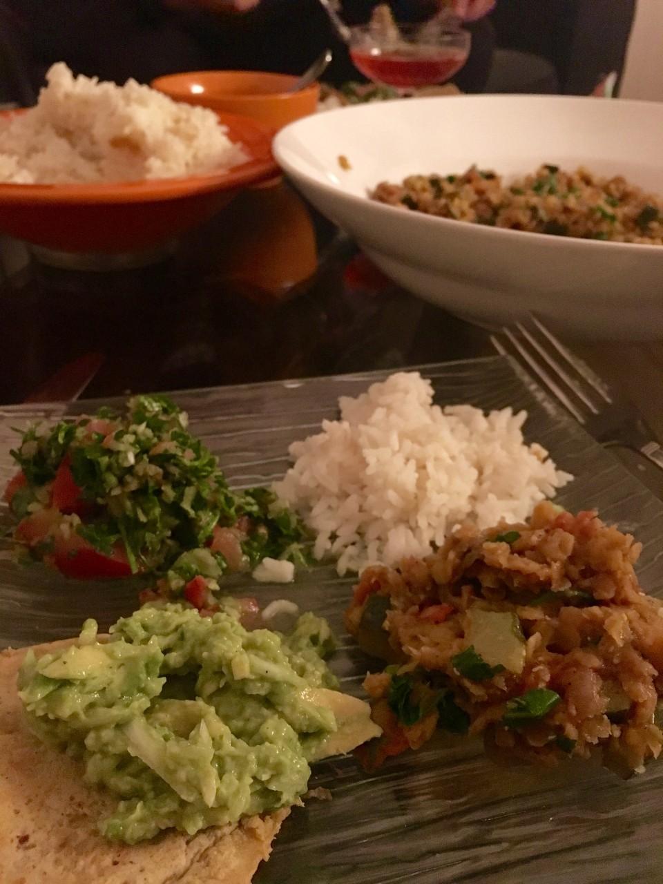 panier des brunettes - dahl cuisine indienne