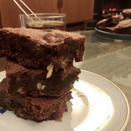 panierdesbrunettes - brownie dattes et noix